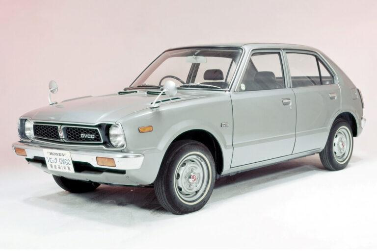 ホンダ シビック CVCC(1973年)