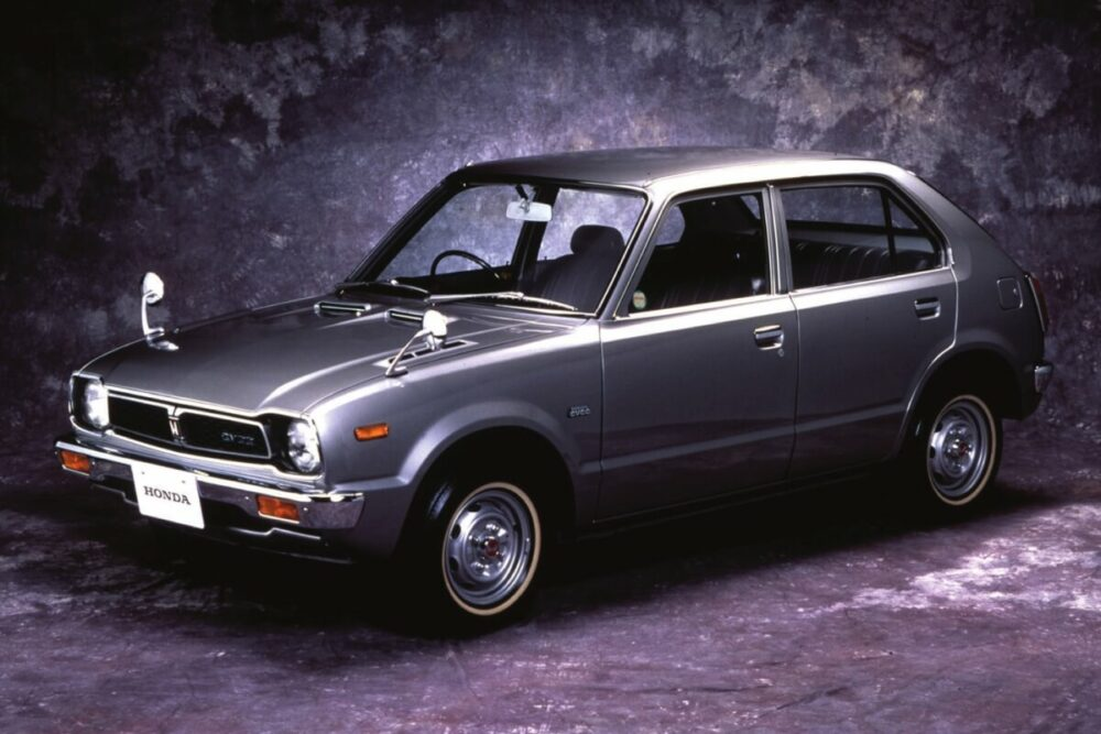 ホンダ シビック CVCC DX(量産第1号車)