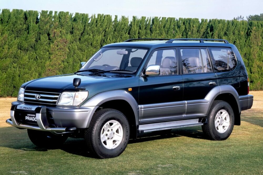 トヨタ 2代目ランドクルーザープラド フロント