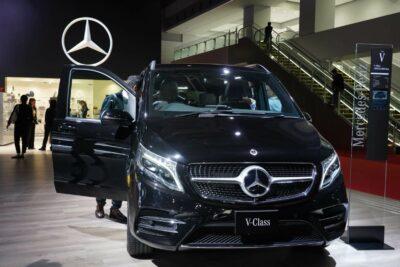 メルセデス・ベンツ新型Vクラス220dが東京モーターショー2019に登場!待望のディーゼル復活へ