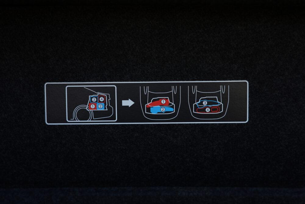 スカイライン GT Type SP ハイブリッド 2WD ゴルフバッグの積み方