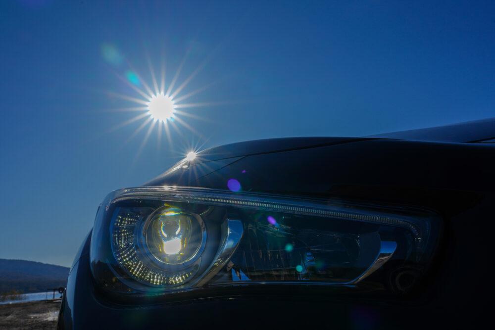 スカイライン GT Type SP ハイブリッド 2WD ヘッドライト
