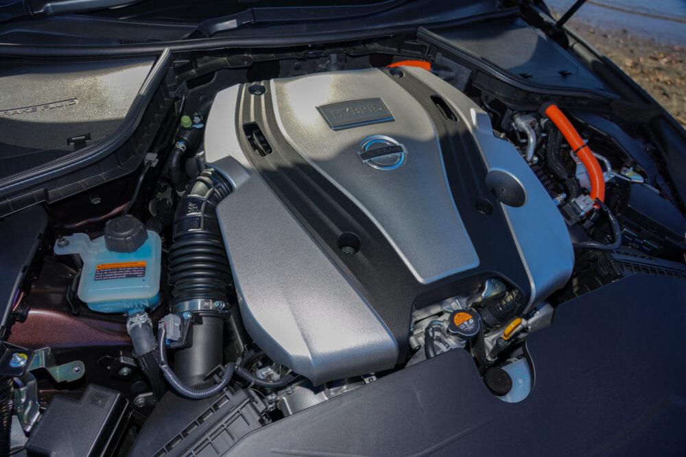 スカイライン GT Type SP ハイブリッド 2WD エンジン