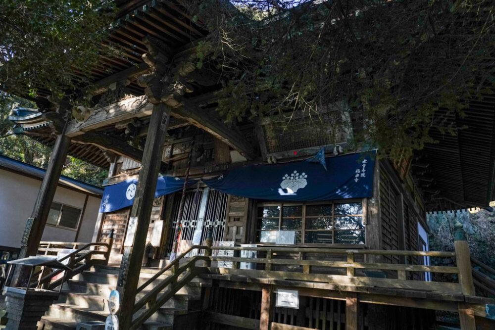 お遍路 第2番札所 極楽寺の本堂