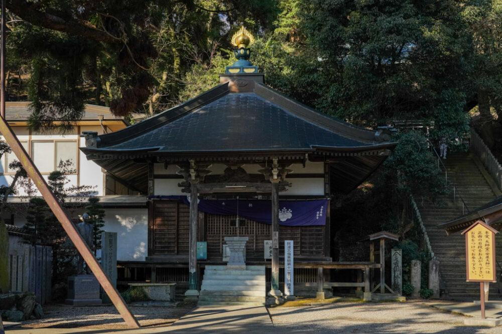 お遍路 第2番札所 極楽寺の薬師堂