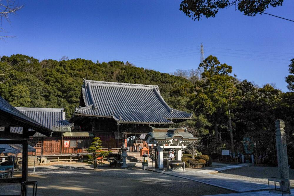 お遍路 第3番札所 金泉寺の本堂