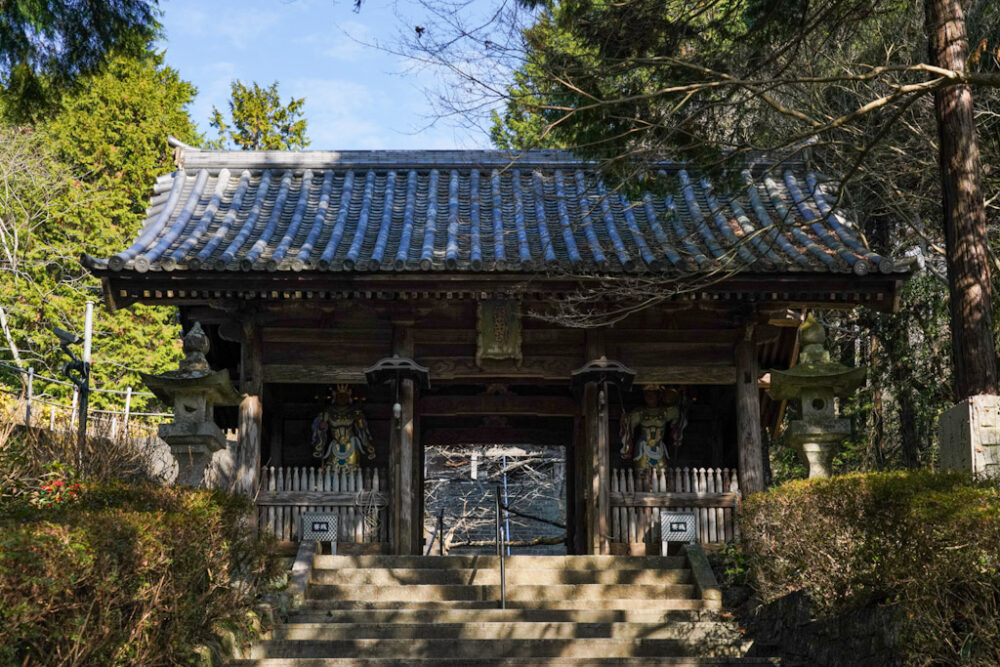 お遍路 第8番札所 熊谷寺の仁王門