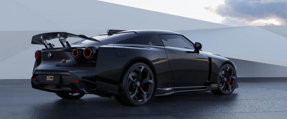 日産 GT R50 イタルデザイン リア サイド