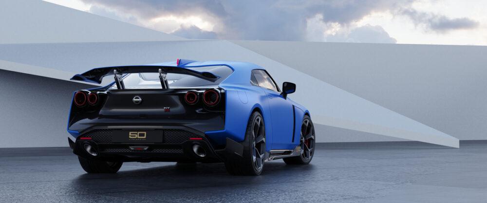 日産 GT R50 イタルデザイン リア