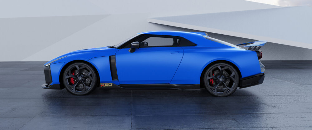 日産 GT R50 イタルデザイン サイド