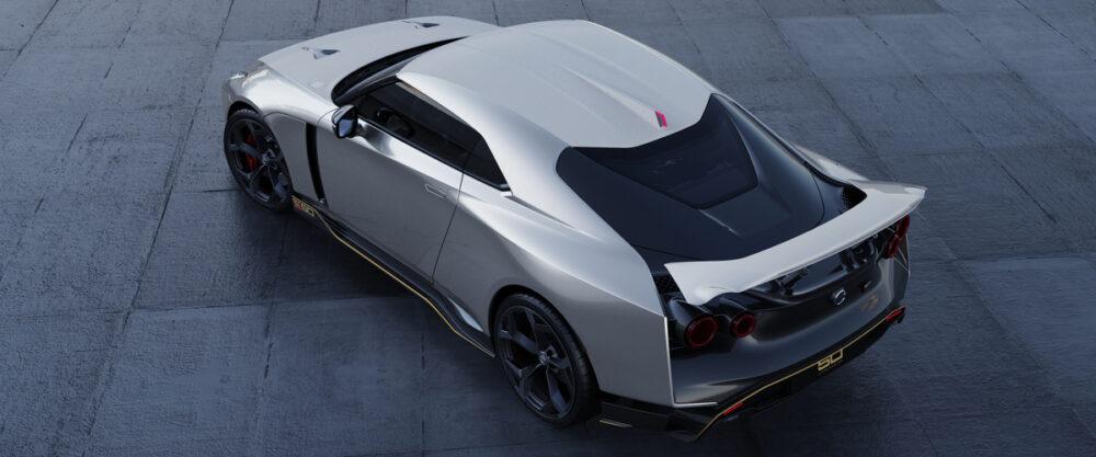 日産 GT R50 イタルデザイン バック