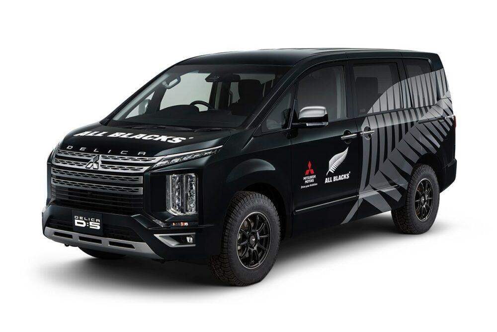三菱 デリカD:5 オールブラックスサポートカー