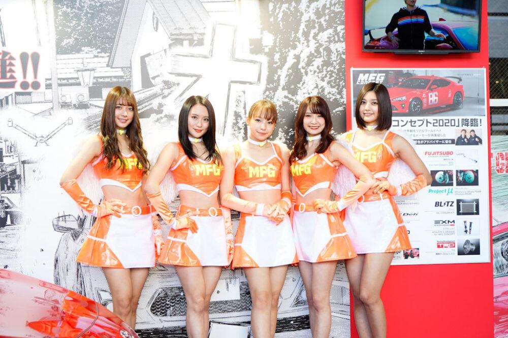 東京オートサロン2020 TASエンジェルス コンパニオン