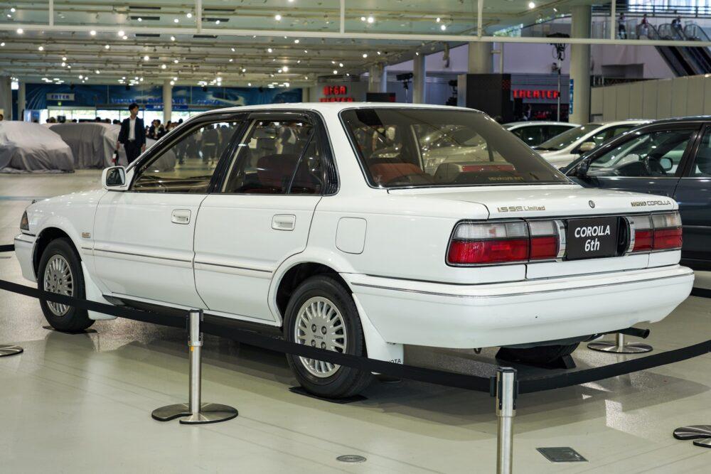 トヨタ カローラ 6代目 1.5L グレード SE リミテッド 外装