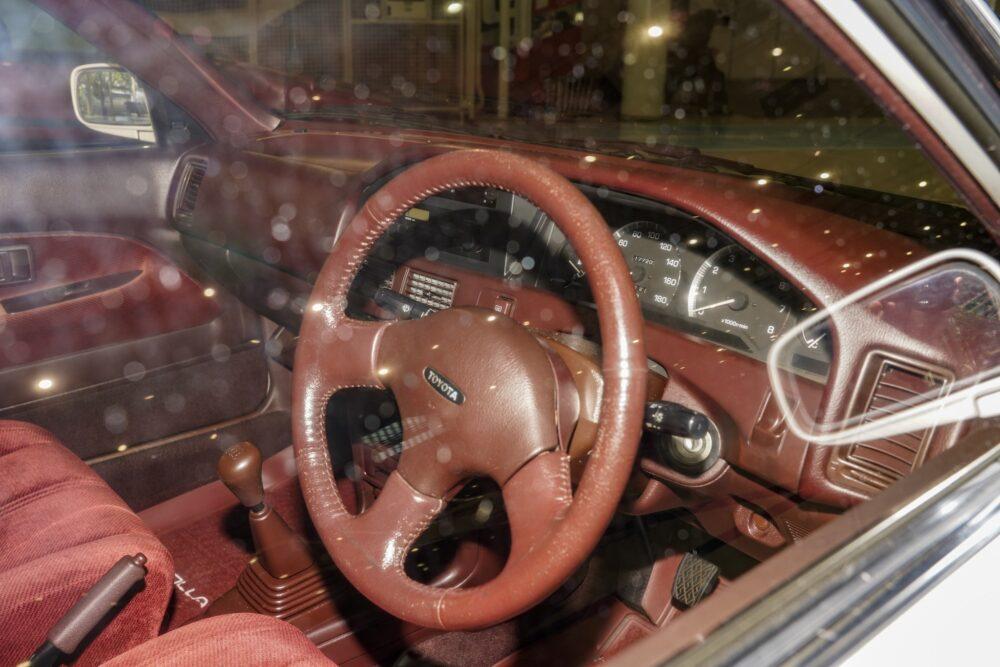 トヨタ カローラ 6代目 1.5L グレード SE リミテッド コックピット