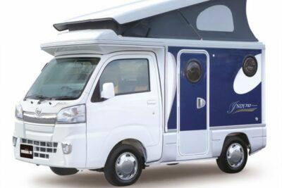 インディアナRV インディ727は軽キャンピングカー!中古車価格や口コミと燃費から車中泊まで