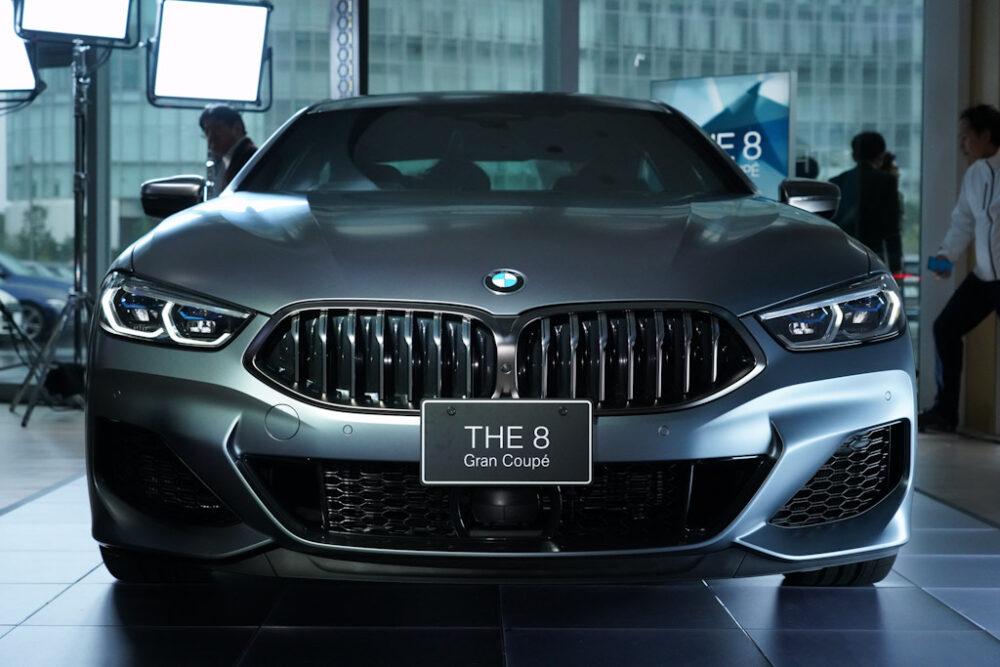 新型BMW 850i グラン クーペのフロントマスク