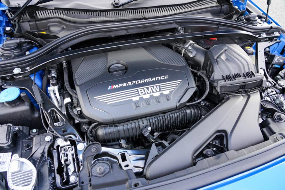 新型BMW 135i xDriveのエンジン