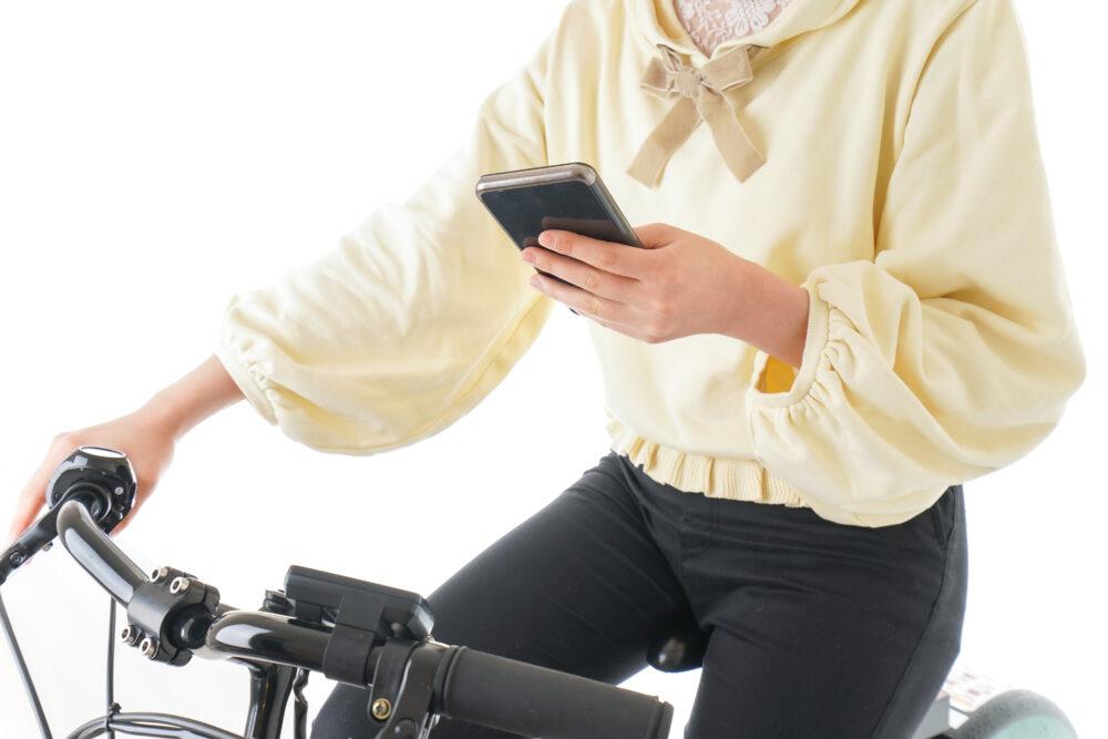 自転車はながら運転の対象になる
