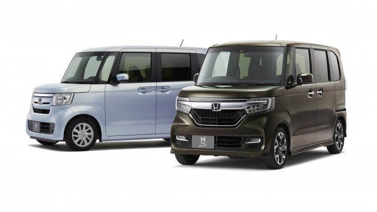 2019年販売台数1位を獲得したホンダ N-BOXとホンダ N-BOX Custom