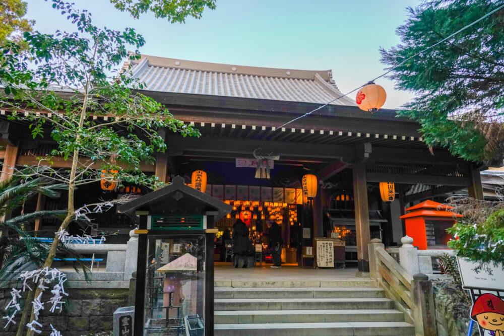 お遍路(四国霊場88ヶ所)第1番札所 霊山寺の本堂