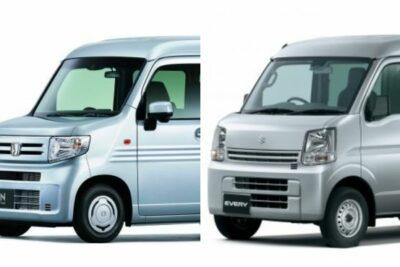 【ホンダ新型N-VAN vs スズキ エブリイ】軽バンライバル車徹底比較!