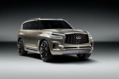 インフィニティQX80モノグラフ公開!日産最高級SUVの日本発売日は?