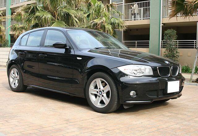 BMW 初代 1シリーズ フロント サイド