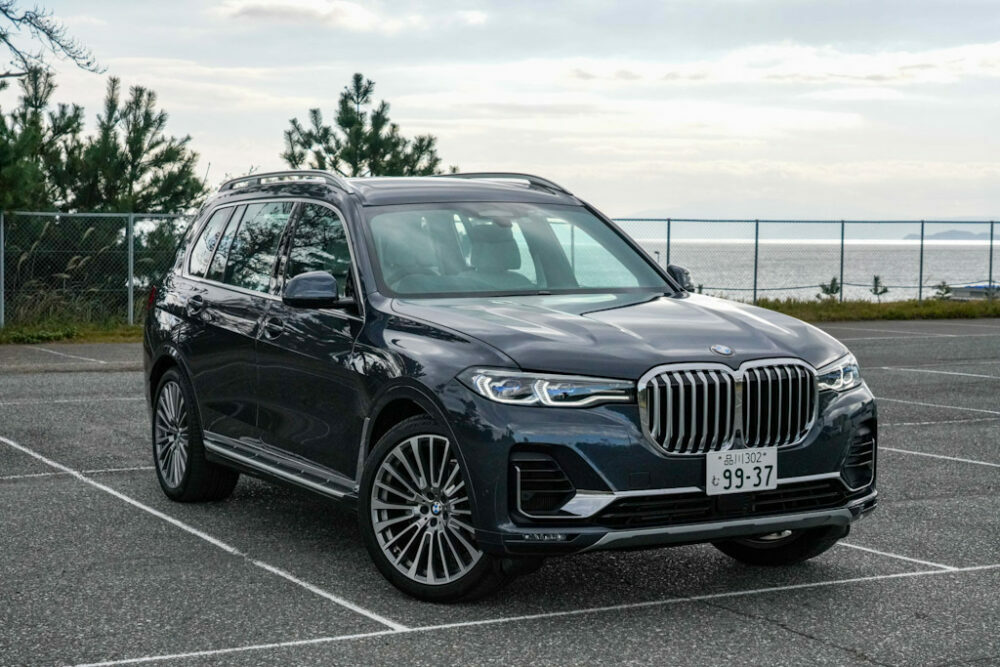 BMW 新型 X7 フロント サイド