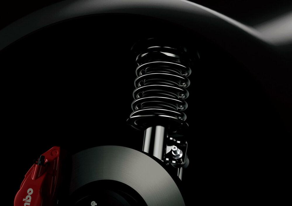 トヨタ 86 GT BLACK LIMITED サスペンション