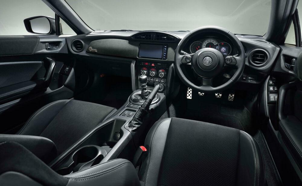 トヨタ 86 GT BLACK LIMITED インパネ