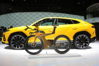【300万円の自転車】限定25台!ランボルギーニのロードバイクが登場