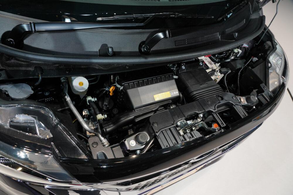 新型日産ルークスハイウェイスターのターボエンジン