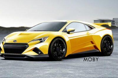 スバル初!ミッドシップ新型ハイブリッドスポーツカーを開発中か?