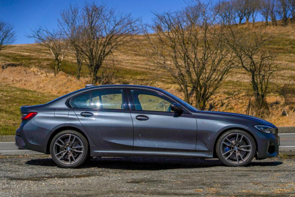BMW M340i ボディサイド