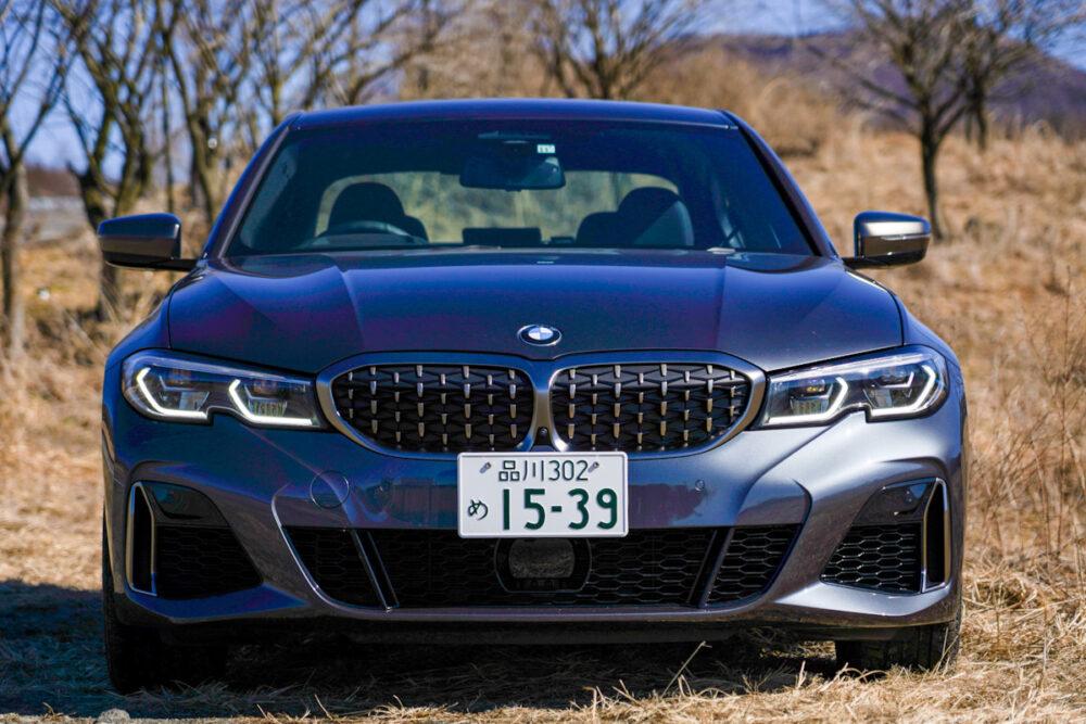 BMW M340iのフロントマスク