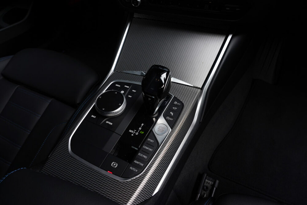 BMW M340iのシフトまわり