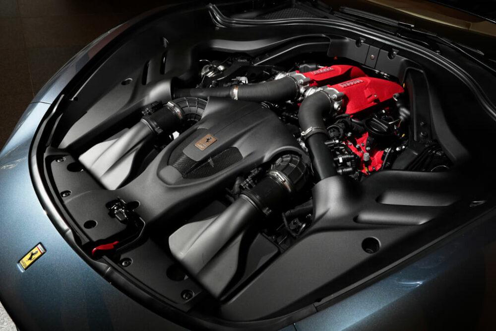 新型フェラーリ ローマ エンジン