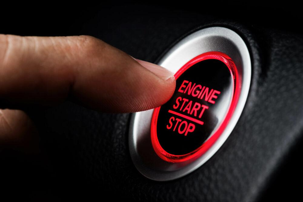 エンジン スタートボタン