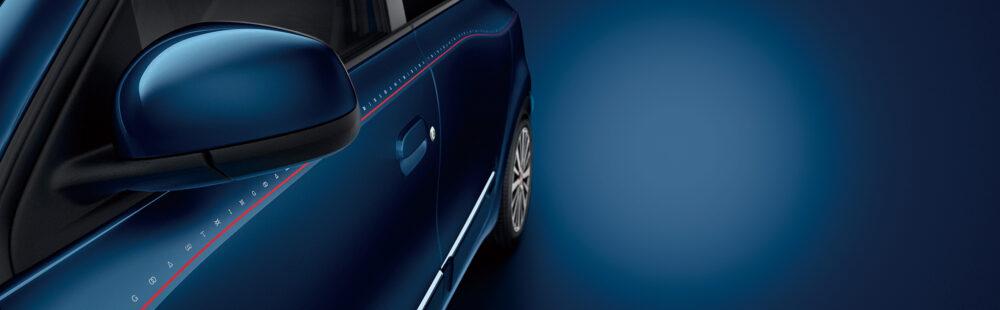 ルノー トゥインゴ 特別仕様車 シグネチャー サイドストライプ