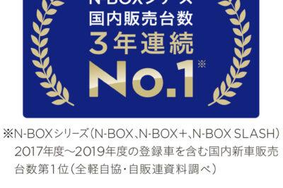 2019年に日本で一番売れた車は「ホンダ N-BOXシリーズ」新車の20台に1台はN-BOXだった