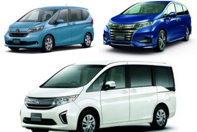 【ホンダのミニバン】新車全3車種一覧比較&口コミ評価|2021年最新版