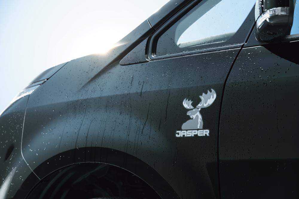 三菱  デリカD:5  特別仕様車 ジャスパー サイドデカール