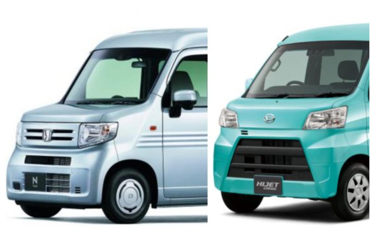 【ホンダ新型N-VAN vs ダイハツ ハイゼットカーゴ】軽バンライバル車徹底比較!