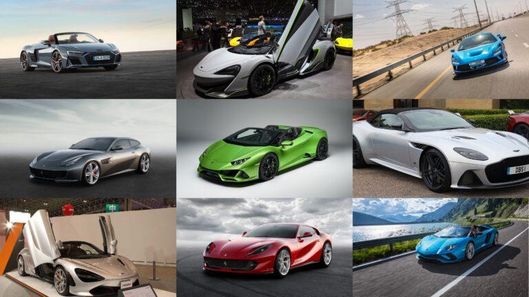 超高級スポーツカー/スーパーカーを価格の高い順にランキング!TOP10を発表|2020年最新版