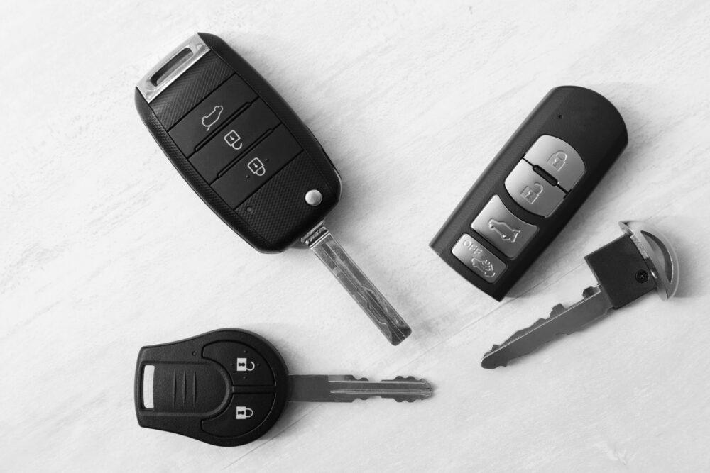 色々な車のキー