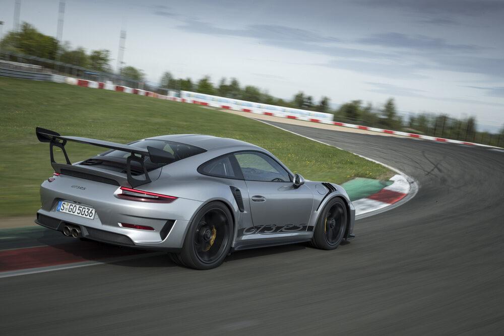 ポルシェ 911 GT3 現行モデル リア