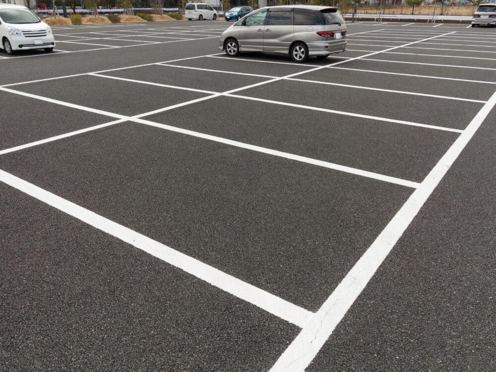 平置きの駐車場