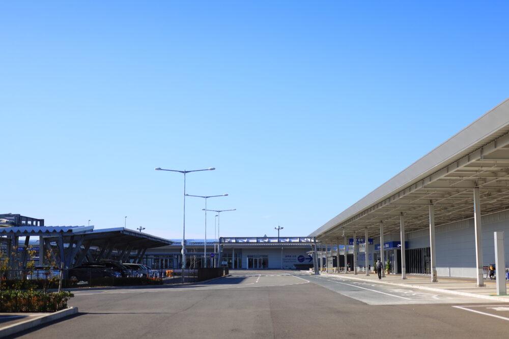 関西空港のロータリー