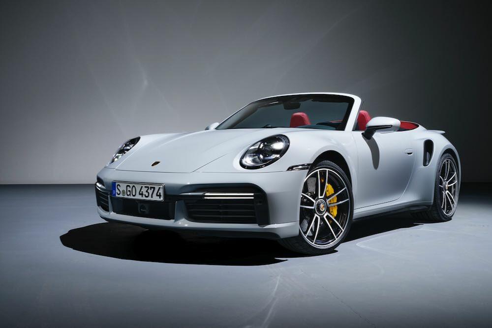2020年4月発表の「911ターボS カブリオレ」